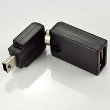 USB 2.0 A female to Mini 5 pin male 360 Degree rotation angle Extension Adapter