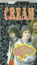 CREAM Strange Brew ORIGINAL VHS TAPE UK 1960's Psych ERIC CLAPTON Jimi Hendrix
