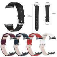 Leather Watch Band Straps For Samsung Gear S2 SM-R720 / SM-R730 with Adapter