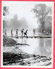 1944 Chinese Signalman During Advance in Northern Burma 7x9 Original News Photo