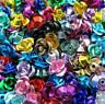 NEW 200/1000pcs Aluminum Rose Spacer Beads For Jewelry Making Findings 7x5mm
