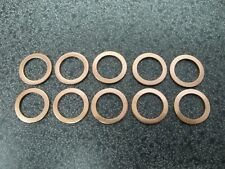 10PC FORD ENGINE OIL DRAIN PLUG WASHER GASKETS (P/N 3C3Z-6734AA)