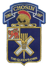 """Wax Backed 32nd Infantry """"CHOSIN"""" Embroidered Patch - OIF OEF 10th Mountain USA"""