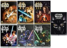 STAR WARS EPISODE 1-6 DVD Bonus Digitally Mastered Collection 1 2 3 4 5 6 New