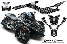 CAN-AM BRP SPYDER RS GS GRAPHICS KIT CREATORX DECALS WRAP SCW
