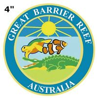 GREAT BARRIER REEF National Park Patch Souvenir Travel Embroidered Iron / Sew-on