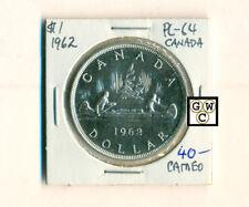 1962 Canadian Silver Dollar - PL64  Cameo (OOAK)