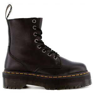 Dr. Martens Unisex Boots Jadon III Casual Lace-Up Goodyear-Welt Pisa Leather