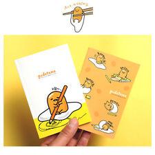 Sanrio Gudetama Slim Diary Scheduler Planner Note Pad : White or Yellow (1pcs)