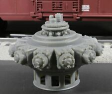 O Scale 1655HP Nordberg 11cyl Industrial Radial Engine Load Grey