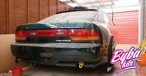 180sx Rear bumper Kouki Type X Style For Nissan 200sx S13 Square register plate