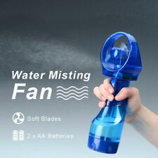 Deluxe Battery Operated Water Misting Fan Handheld Fan AU