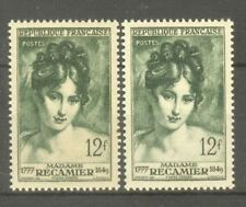 "FRANCE STAMP TIMBRE N° 875 "" MADAME RECAMIER , 2 COULEURS "" NEUFS xx TTB"
