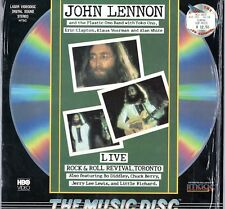 """Beatles (John) """"John Lennon & POB"""" 1989 US Image Video Disc w/ Cover In Shrink"""