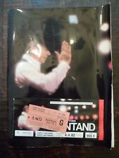 Programme + Ticket concert YVES MONTANT - 4/4/1982 - Forest-National - BRUXELLES