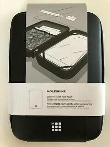 Moleskine Journey Tablet Pouch, Hard, Black