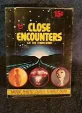 Close Encounters Of The Third Kind Collector Cards Full Box 36ct.