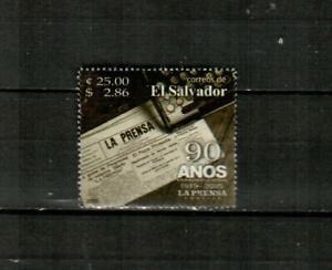 EL SALVADOR Scott's 1614 ( 1v ) La Prensa Newspaper F/VF Used ( 2005 ) #2