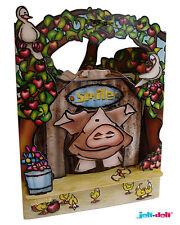 3D Swing Cards by Santoro - BELLE PIG - SG-SC-096
