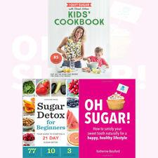 Sarah Wilson I Quit Sugar Kids Cookbook Sugar-Free Recipes 3 Books Collection
