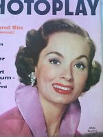 Vintage Collectible Movie Magazine Photoplay Ann Blyth Cover Jan 1956