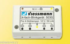 Viessmann 5030 Appareil de Clignotage Quadruple