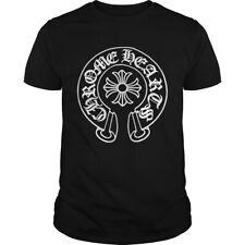 HOT Design 2021ChromeHearts Best Collection Black T-Shirt 3-XL