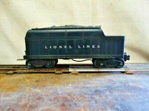 Vintage Lionel Lines 6400WX Whistle Coal Tender