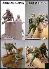 Evolution Miniatures 1:35 American Marines in Fight Vietnam Figure #EM-35035
