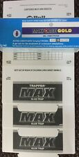 MAXFORCE GOLD Cockroach genuine Product 1 Tube Plus 3 Max Trappers