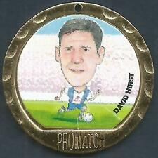 PROMATCH MEDALLIONS 1997-PREMIER LEAGUE COIN/MEDAL-SHEFFIELD WEDS-DAVID HIRST