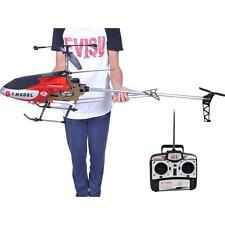 53 Inch Extra Large GT QS8006 2 Speed 3.5 Ch RC Helicopter Builtin GYRO Red A