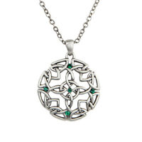Round Celtic Knot Pendant Necklace.Beautiful Designs.Premium Jewelry Collections