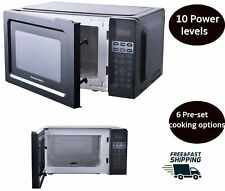 Digital Counter top Microwave Oven Kitchen Display Defrost Cooking Warming Black