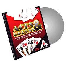 ACES & QUEENS BICYCLE GIMMICK CARDS & ONLINE INSTRUCTIONS BY ASTOR MAGIC TRICKS