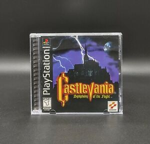 Castlevania: Symphony of the Night PlayStation 1 PS1 Black Label Complete!