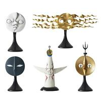 Taro Okamoto Tower Of The Sun Four faces Set KAIYODO Figure w/ Tracking NEW