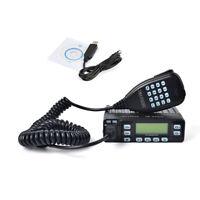 25W 2Meter/70cm 144/430Mhz Mini Car Mobile Ham Amateur Radio Mobile Transceiver