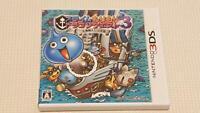 USED NINTENDO 3ds Slime MoriMori Dragon Quest 3: Taikaizoku to Shippo Dan Japan