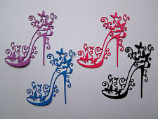 Shoes High Heel Paper Die Cuts x 2 Sets Scrapbooking Card Topper Embellishment