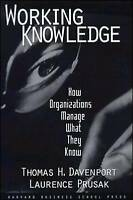 Working Knowledge: How Organizations Manage What They Know-ExLibrary