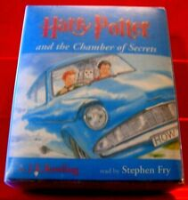 Harry Potter And The Chamber Of Secrets 6-Tape UNA Audio Stephen Fry J.K.Rowling