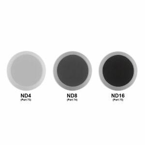 DJI Phantom 4 Series OEM ND Filter Kit Part 73,74,75 (ND4,ND8,ND16)