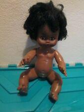"""Vintage Eugene Doll Black African Plastic Baby Doll 12.5"""""""