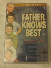 FATHER KNOWS BEST SEASON 1 (DVD, 2008, 4-Disc Set) NEW