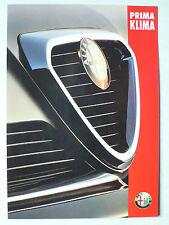 Prospekt Alfa Romeo 164 Super V6 - Prima Klima, ca.1994, 4 Seiten