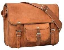 Umhängetasche Unitasche Aktentasche Leder Vintage Braun