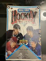 1991-92 UPPER DECK HOCKEY HIGH SERIES UNOPENED FACTORY SEALED BOX (36 Packs)
