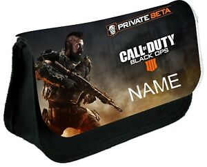 CALL OF DUTY #2  Personalised Pencil Case, make up bag, school any name