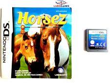 Horsez Juego + Manual Nintendo DS Completo Retro Mint State PAL/SPA Videojuego
